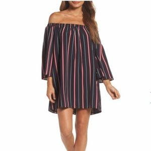 French Connection Dresses - French Connection Hasan Off-Shoulder Mini Dress